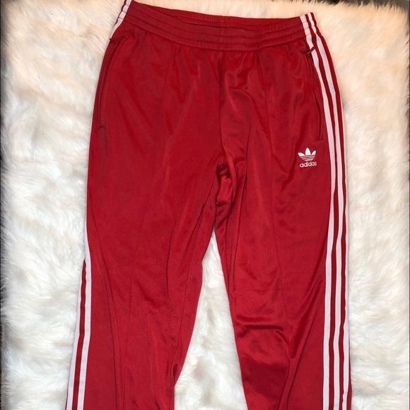 3ef97a1d992 adidas Pants - ADIDAS Red Vintage Trefoil SweatPants Large women